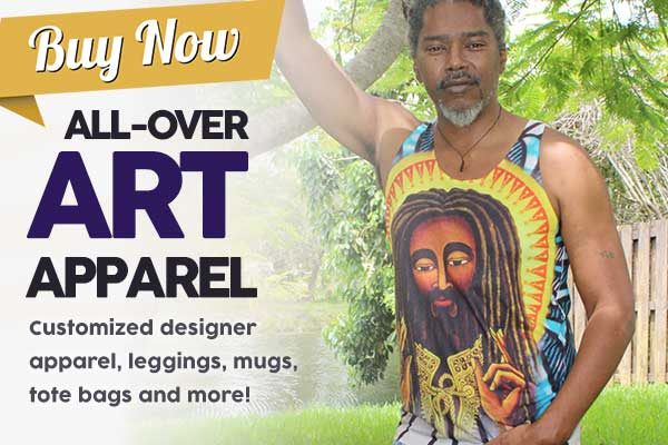 Buy now all over art apparel