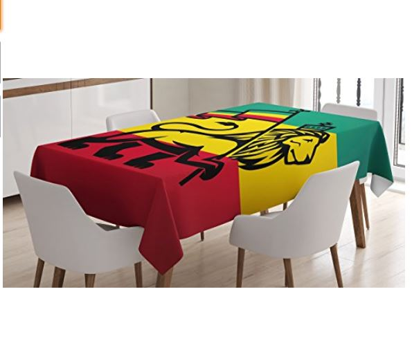Rasta Tablecloth ...